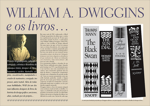 Tupigrafia 8: articolo su William Dwiggins